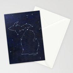 Mitten State Constellation Stationery Cards