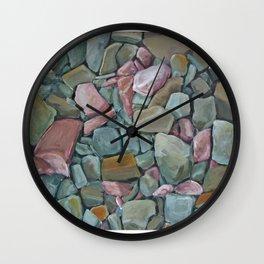 Mosaic Canyon Rockfall Wall Clock