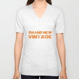 Brand New Vintage Unisex V-Neck