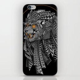 Barbarian Lion iPhone Skin
