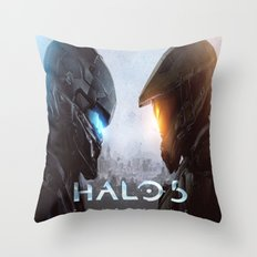 halo 5  , halo 5  games, halo 5  blanket, halo 5  duvet cover, halo 5  shower curtain, Throw Pillow