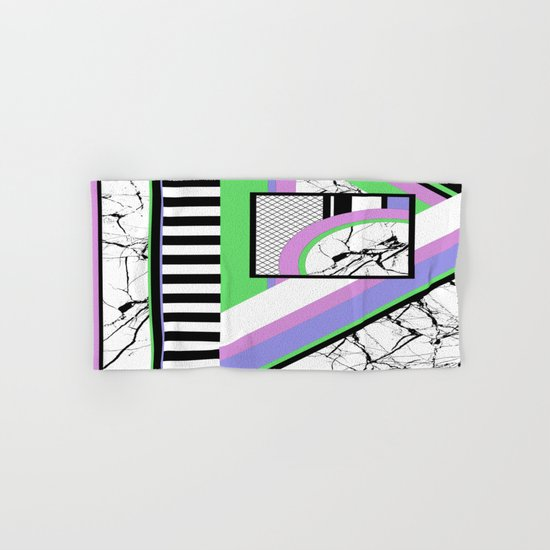 AMPS Deux - Abstract, Marble, Pastel, Stripes Hand & Bath Towel
