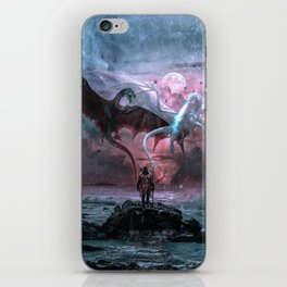 Dragon castaway iPhone Skin