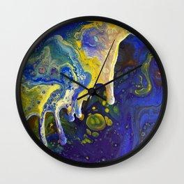 Spill Wall Clock