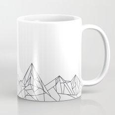 Night Court Mountain Design Mug