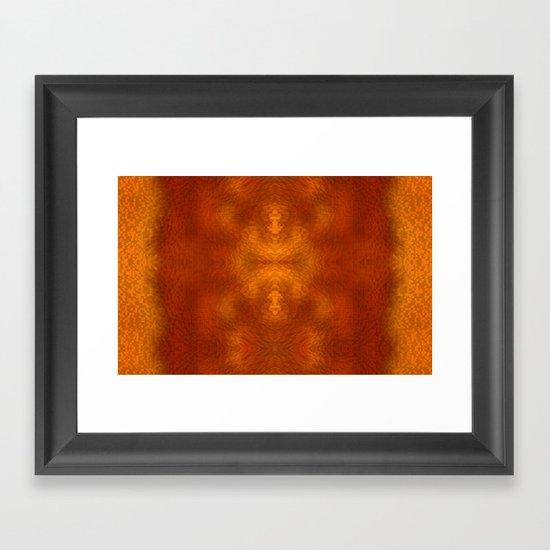 Alien within Framed Art Print
