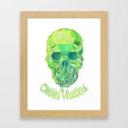Omnia Vanitas  Framed Art Print