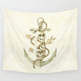 Three Missing Pirates Wall Tapestry