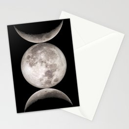 Triple Moon Stationery Cards
