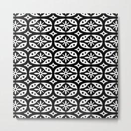 Projector Pattern Metal Print