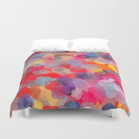 Confetti(colorful). Duvet Cover