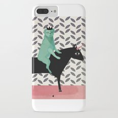 dog king, welcome to internet, meh! iPhone 7 Plus Slim Case