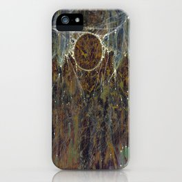 Nebulous Portal Emergence (Electric Gateway) iPhone Case