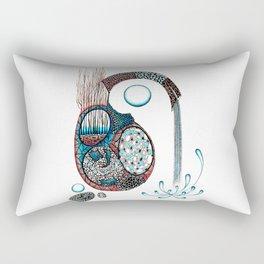 Gestazione Rectangular Pillow
