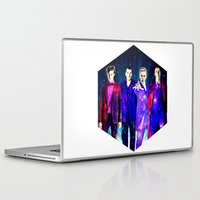 suits Laptop & iPad Skins featuring The Doctors: Galaxy Suits by Paris Noonan