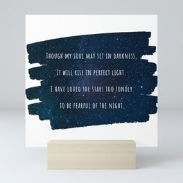 Loved the Stars too Fondly - The Old Astronomer Mini Art Print