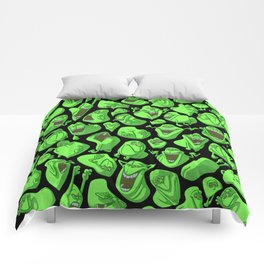Fifty shades of slime. Comforters