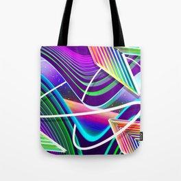 Neon Gateway Tote Bag
