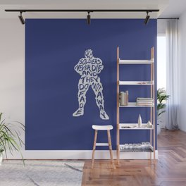 Soldier 76 Type illustration Wall Mural