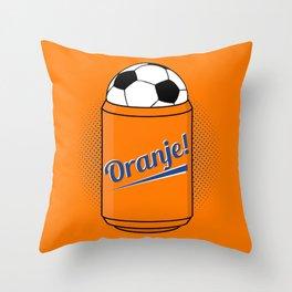 ORANJE! Throw Pillow