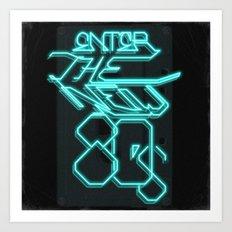 Enter the new 80s Art Print