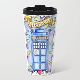 Doctor Who TARDIS Allons-y! Travel Mug