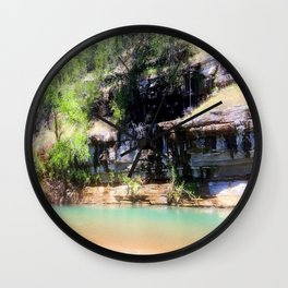 Afternoon on the River Wall Clock