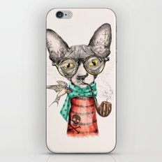 Mr.Peterbald iPhone & iPod Skin