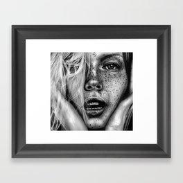 + FRECKLES + Framed Art Print
