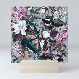 Floral and Birds XXIV Mini Art Print