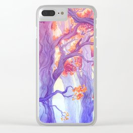 The Long Crossing - Purple Variant Clear iPhone Case