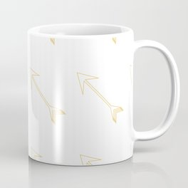 Gold Foiled Arrow Coffee Mug