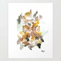 All the leaves aren't brown Art Print