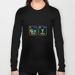 Couple Matching Shirt GaY Periodic Table Gay LGBT Pride Gift Long Sleeve T-shirt