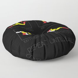 One Punch Man Workout Floor Pillow