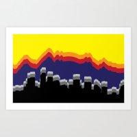 colorado Art Prints featuring ColoRADo by Sierra LaFrance