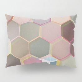 Layered Honeycomb Pillow Sham