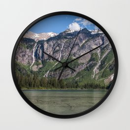 Glacier National Park - Avalanche Lake Wall Clock