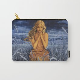 Praying in the Wheatfield Carry-All Pouch