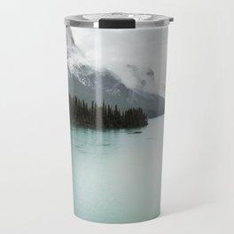 Landscape Photography Maligne Lake Travel Mug