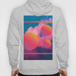 Vaporwave sky 1 / Rise / 80s / 90s / aesthetic Hoody