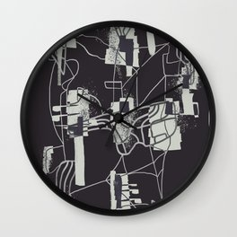 Abstract Composition 19 Wall Clock