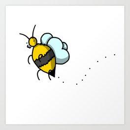 Buzzy Bee   Veronica Nagorny Art Print