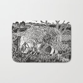 Dartmoor sheep Bath Mat