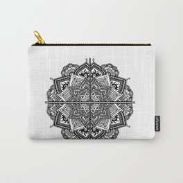 Mandala Fleur Carry-All Pouch