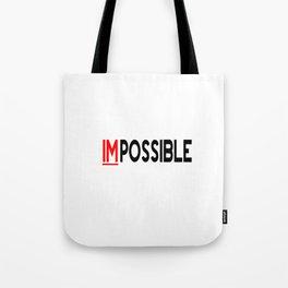 I Am Possible Tote Bag