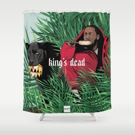 King's dead Shower Curtain