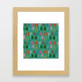 Forest Fruit Framed Art Print
