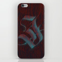 J of judgement day iPhone Skin