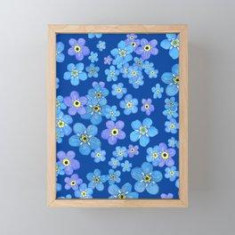 Forgetmenot Framed Mini Art Print